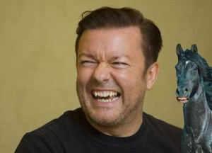 Ricky-Gervais-on-a-Horse